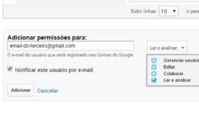 Adicionar um usuário no Google Analytics: Passo a passo