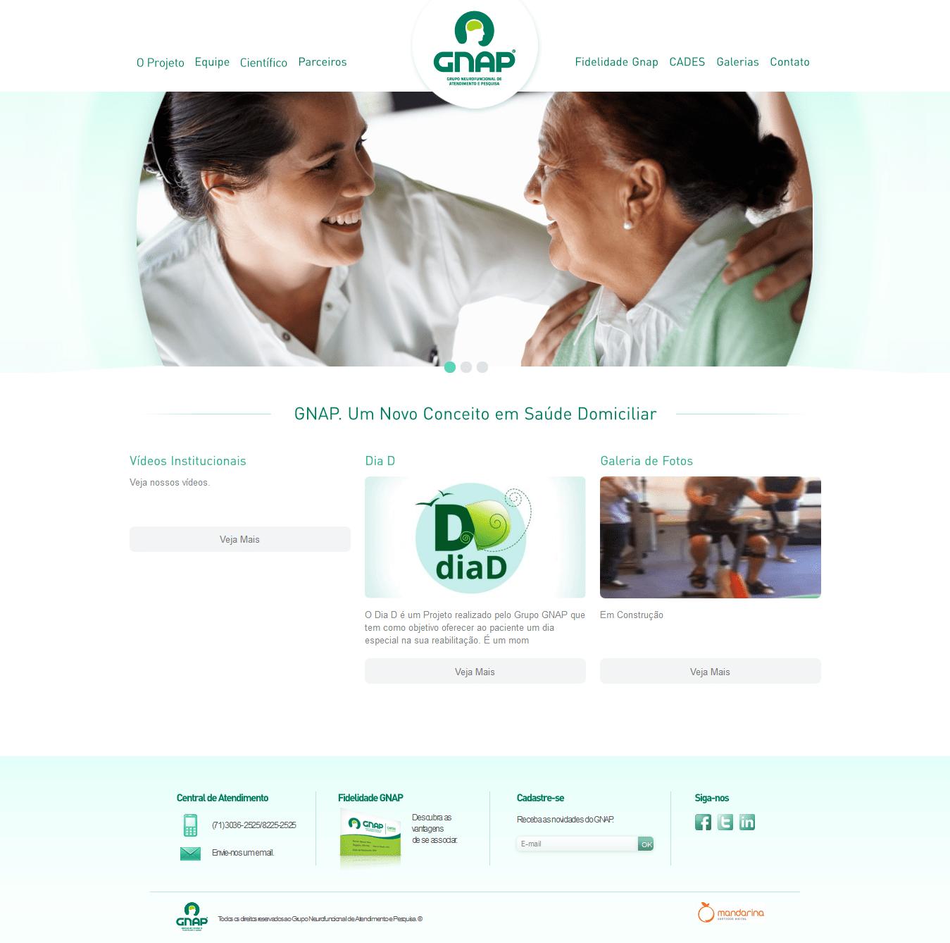 Web site Grupo GNAP