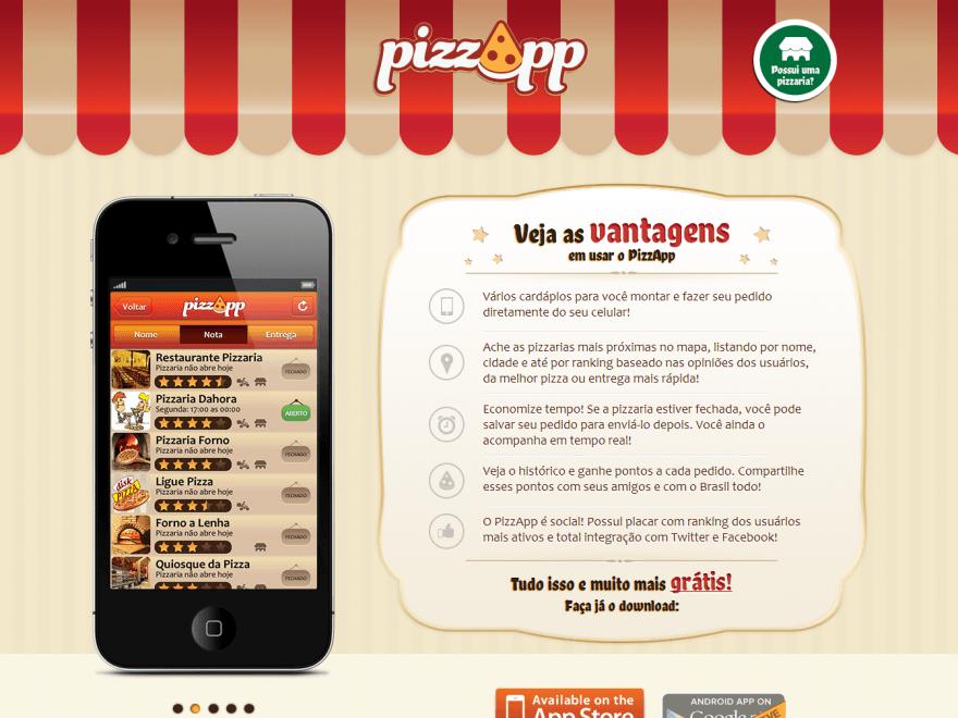 Web site PizzApp