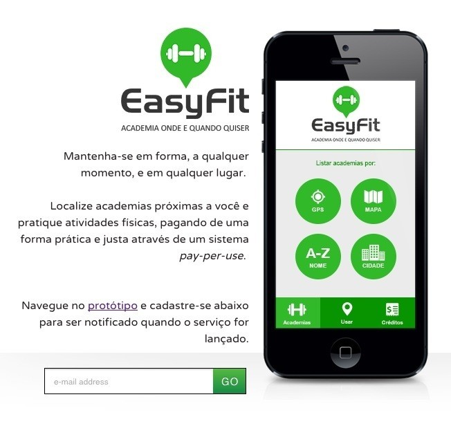 App EasyFit no Startup Weekend Salvador 2013