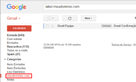 Como receber e-mails do Hostinger pelo Gmail