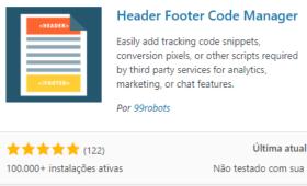 Como Inserir Códigos no WordPress com Plugin Grátis